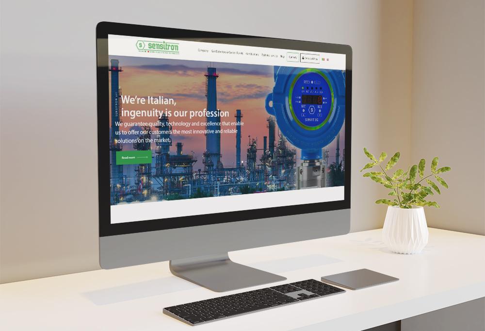 The new Sensitron website is online!